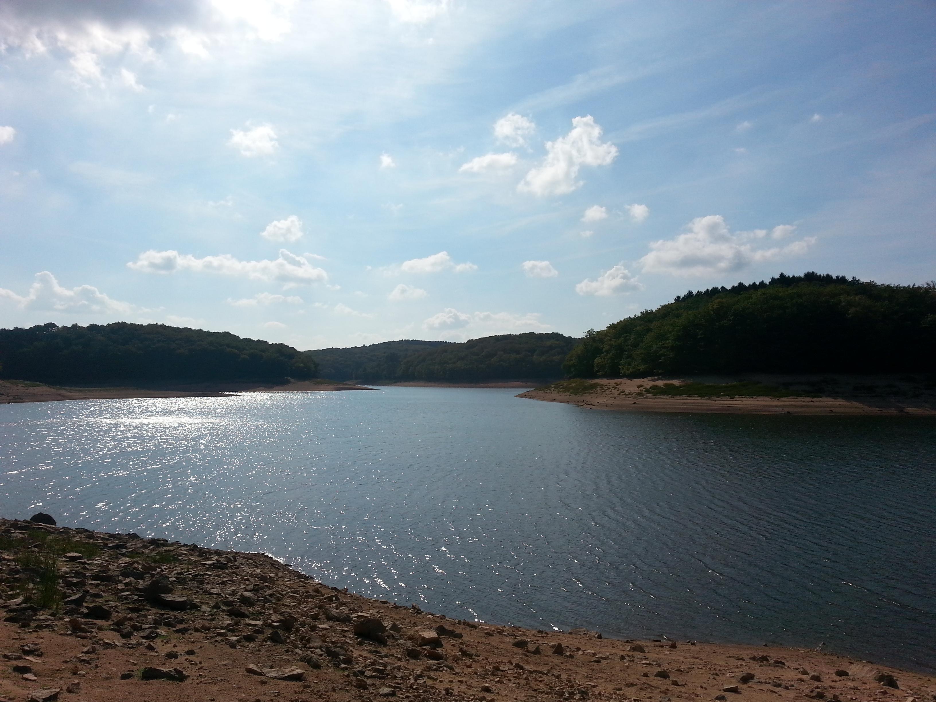 Lac de Chaumecon bij Brassy