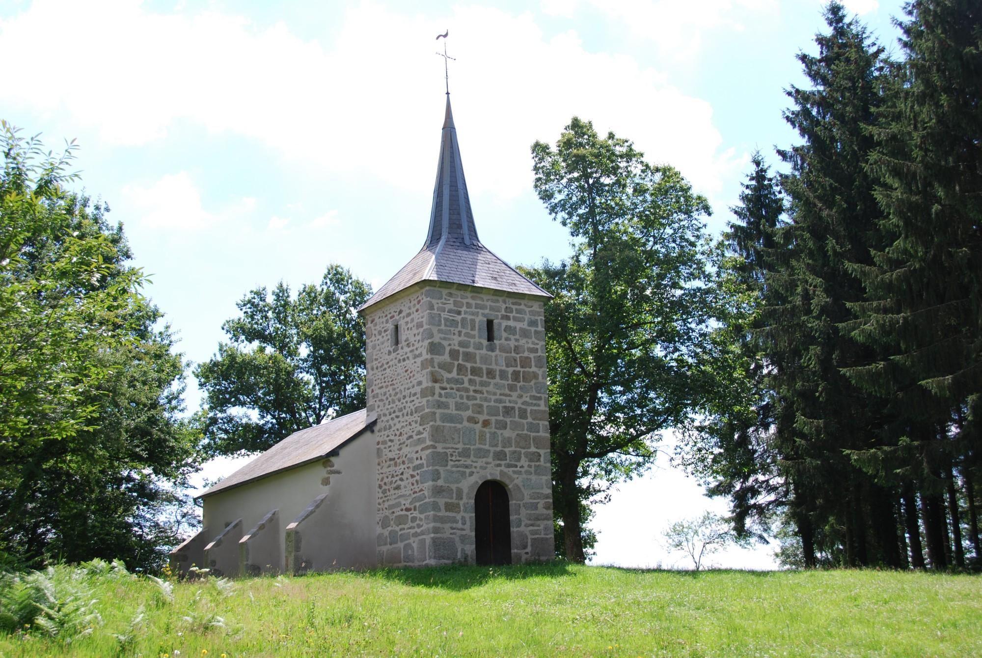 La Chapelle de Savault, een mooie wandeling vanuit huis van ong. 45